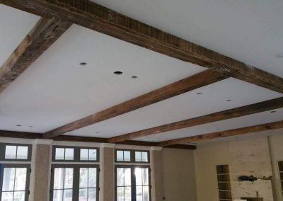 Reclaimed Wood Ceiling Beams | Specialty Flooring | Reclaimed Building Materials | Hilton Head, Savannah, Bluffton, Beaufort SC
