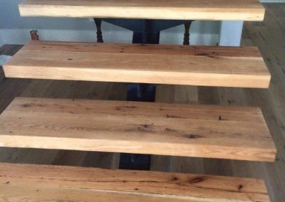 Reclaimed Wood Stairs | Specialty Flooring | Reclaimed Building Materials | Hilton Head, Savannah, Bluffton, Beaufort SC