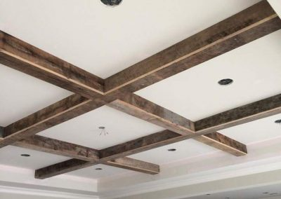 Reclaimed Wood Beams Ceiling | Specialty Flooring | Reclaimed Building Materials | Hilton Head, Savannah, Bluffton, Beaufort SC